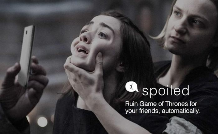 มีหนาว! แอพฯ แก้เผ็ดเพื่อนหรือคู่อริที่ดู Game of Thronesด้วยการส่งข้อมูลสปอย์ดแบบออโต้