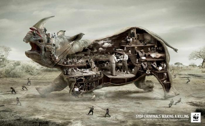 100 Print Ads ไอเดียเจ๋งจาก WWF ที่เราไม่อยากคุณพลาด