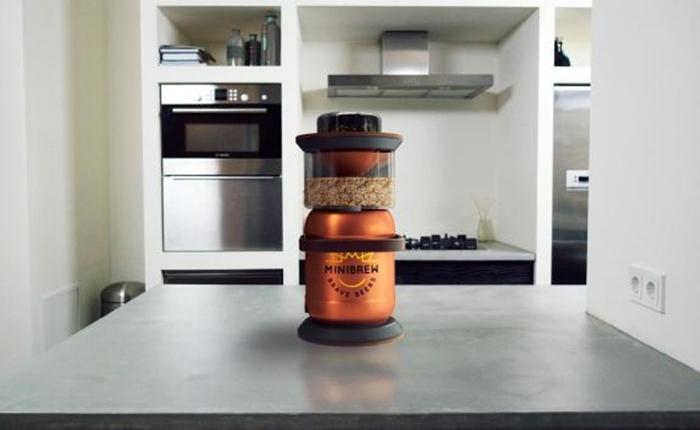 อยู่บ้านก็ชิลได้ The MiniBrew เครื่องหมักเบียร์สุดไฮเทค ที่ใช้สมาร์ทโฟนกำหนดรสชาติ