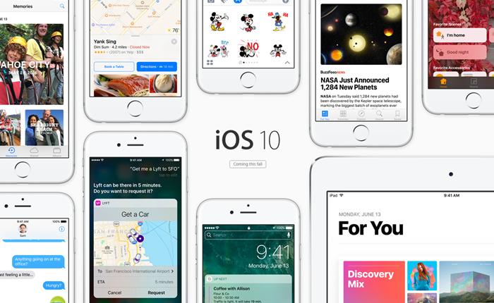รู้จัก iOS10 ซอฟท์แวร์ใหม่กิ๊กจาก Apple มาพร้อมฟีเจอร์ใหม่ๆ เพียบ