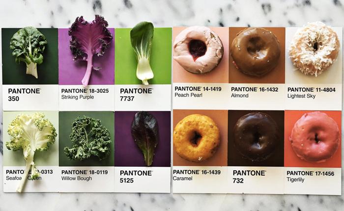 ชวนดูไอเดียเก๋ๆ ในการถ่ายภาพอาหารโดยใช้เฉดสีเดียวกับ Pantone