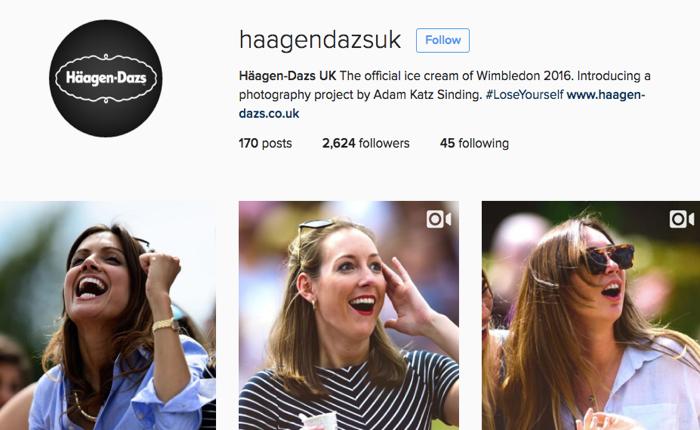 ฮาเก้น-ดาส พาร์ทเนอร์ Wimbledon ส่งช่างภาพมืออาชีพเก็บโมเม้นต์มันๆ ของการเชียร์เทนนิสโพสต์ลงโซเชียล!