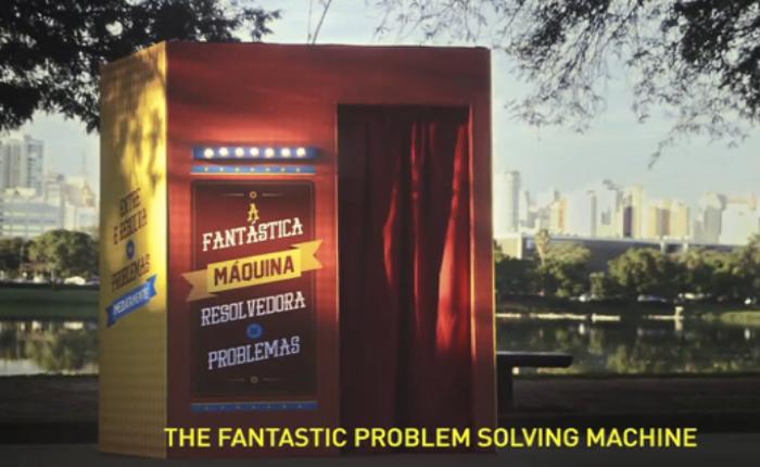 NGO โปรโมทตัวเองด้วยวิธีสุดเจ๋ง สร้างตู้มหัศจรรย์ช่วยแก้ทุกปัญหาบนโลก!