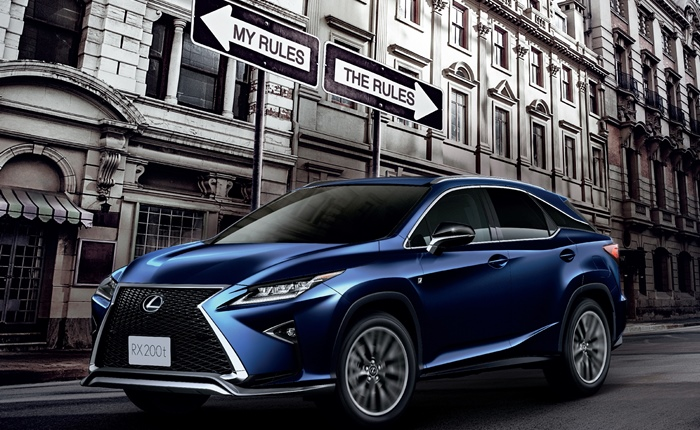 Lexus ให้คุณเป็นเจ้าของ Lexus NX และ RX ได้ในช่วงเวลาดีที่สุดแห่งปี