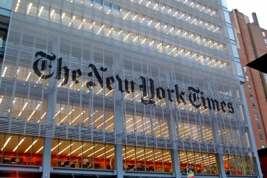 New York Times สื่อที่กลายเป็นคนทำ Content VR ให้แบรนด์