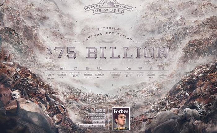 ชวนดู Print Ads จากนิตยสาร Forbes กระตุ้นการแก้ปัญหาสังคมและสิ่งแวดล้อม