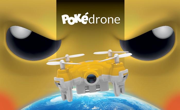'Pokédrone' โดรนจิ๋วสุดเจ๋ง ไล่จับโปเกมอนได้แม้ในที่ที่ยากจะเข้าถึง