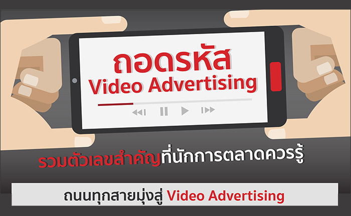 ถอดรหัส Video Advertising รวมตัวเลขสำคัญที่นักการตลาดควรรู้