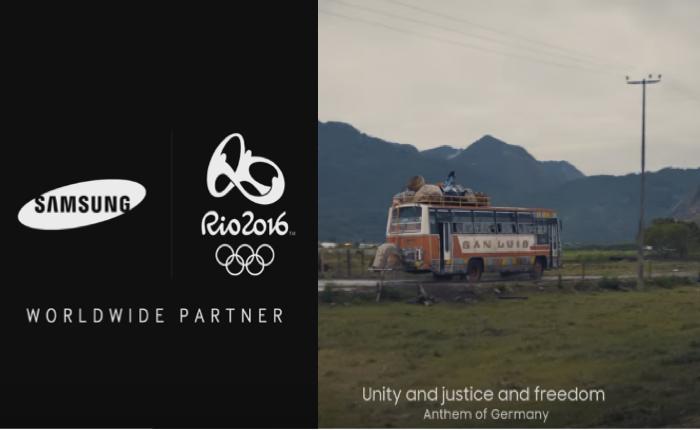 ฟังแล้วขนลุก! Samsung เข้าถึงสปิริตโอลิมปิก สร้างเพลงประกอบโฆษณาจากเนื้อเพลงชาติของนานาประเทศ