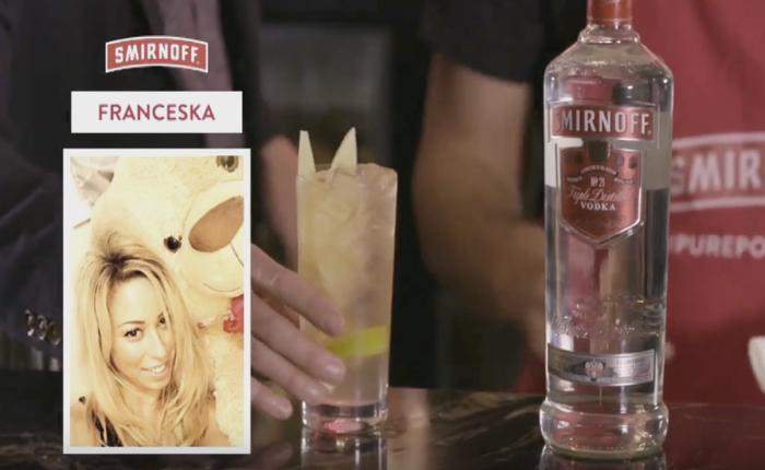 Smirnoff รู้วิธีหาเรื่องชวนคนเมา แค่ส่งภาพเซลฟี่มา จะปรุงค็อกเทลที่เข้าท่าแมทช์กันให้!