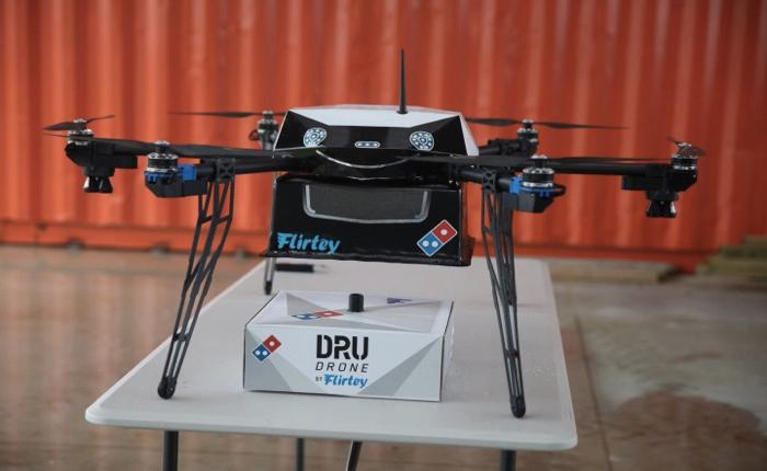 โดมิโน่ พิซซ่า ทดสอบการส่งพิซซ่าด้วย Drone สำเร็จเป็นครั้งแรกในนิวซีแลนด์