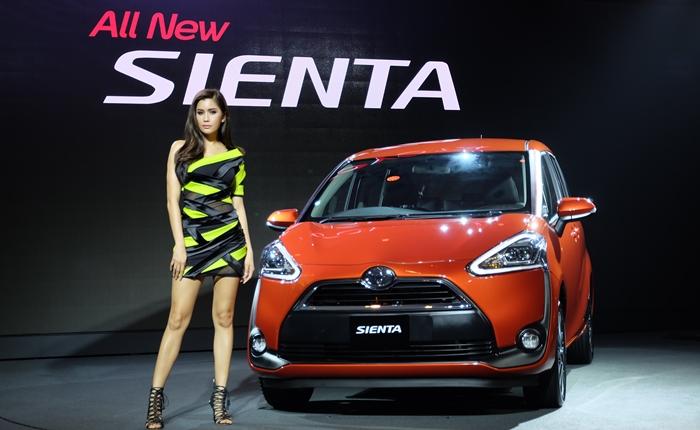 """โตโยต้า เปิดตัวรถยนต์นั่งอเนกประสงค์รูปแบบใหม่ """"All New SIENTA"""" ตั้งเป้า 1,700 คันภายในปีนี้"""