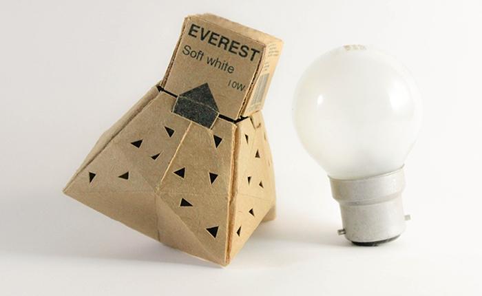 เมื่อกล่องใส่หลอดไฟ เป็นมากกว่าแพคเกจทั่วไป ปลูกต้นไม้ได้ แขวนต่างหูได้