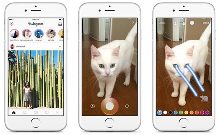 ชาวเน็ตวิจารณ์หนัก Instagram Stories มีความคล้าย Snapchat สูงมาก