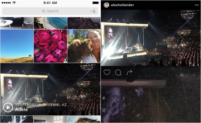 Instagram อัพเดทฟีเจอร์ใหม่ Events Channel รวบรวมวิดีโอคอนเสิร์ตและงานอีเวนท์ใหญ่ให้ได้ชมแบบฟรอนท์โรว์
