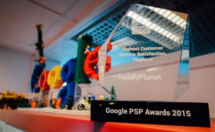 เรดดี้แพลนเน็ตแสดงศักยภาพด้านการให้บริการ รับรางวัล สุดยอดความพึงพอใจในการบริการลูกค้า จาก Google เอเชียตะวันออกเฉียงใต้