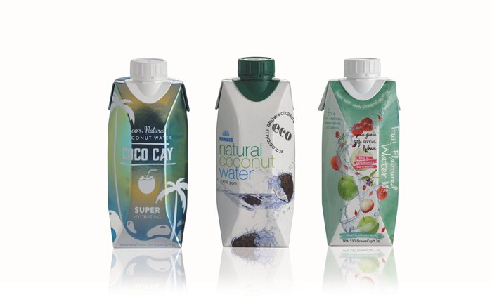 Coconut water in Tetra Prisma® Aseptic carton packages