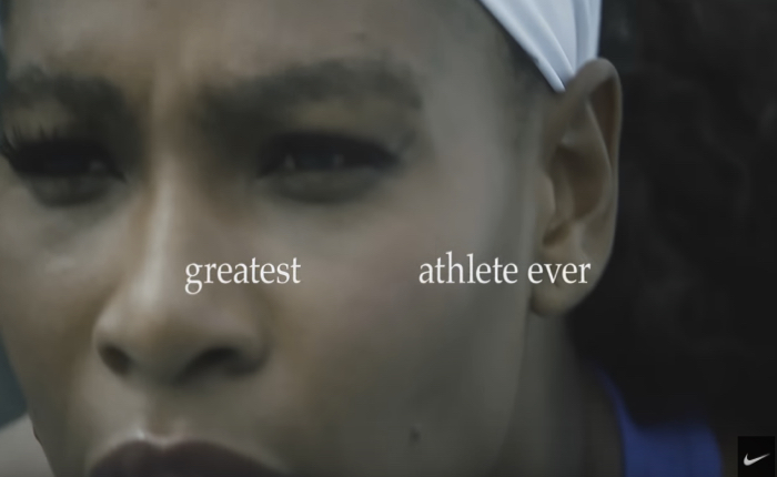 """ไนกี้ โชว์โฆษณาสุดง่ายแต่เท่ เล่าตำนานชีวิตของสุดยอดนักกีฬา """"เซเรน่า วิลเลี่ยม"""" ด้วยข้อความล้วนๆ"""