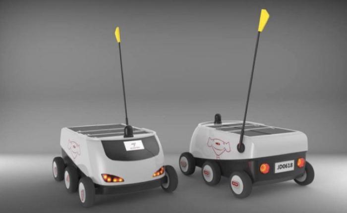 2 เว็บช้อปปิ้งจีนพร้อมใจโชว์ความล้ำ สร้างรถบังคับอัตโนมัติวิ่งส่งของไม่ต้องพึ่งคน!