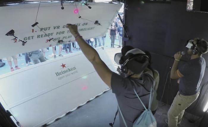 ไฮเนเก้น เปลี่ยนซุ้มร้องคาราโอเกะด้วย VR ให้กลายเป็นเวทีคอนเสิร์ตที่สร้างความฮาและเสียงกรี๊ดได้สุดใจ