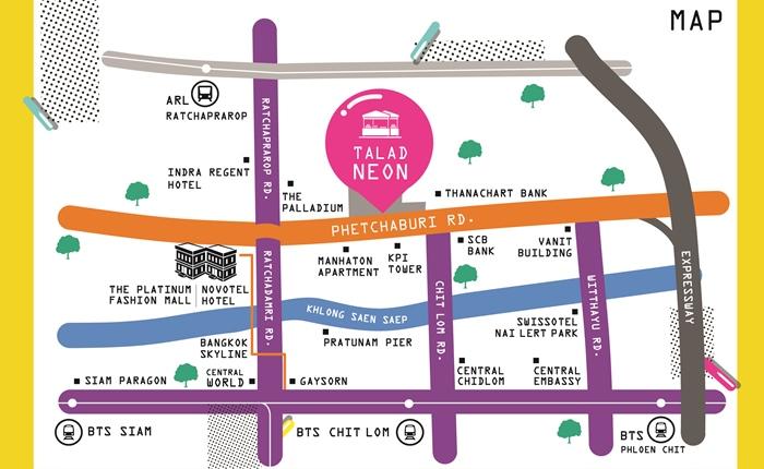 "PLAT ทุ่มงบกว่า 80 ลบ. ผุดโครงการตลาดนัดกลางคืนใจกลางกรุง ""Talad Neon – Downtown Night Market"""