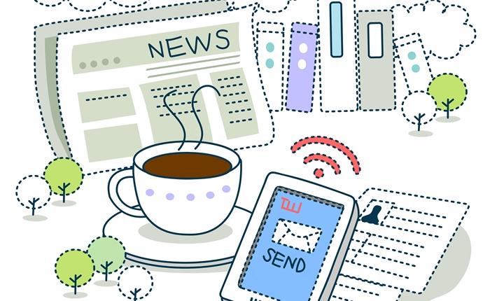 ความต่างของจำนวนนาทีระหว่างการ อ่านข่าวออนไลน์ VS อ่านจากหนังสือพิมพ์