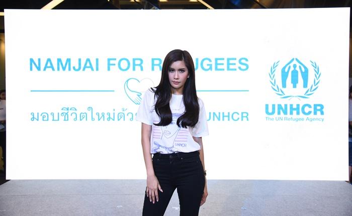 ปู ไปรยา รับไม้ต่อ เคท บลันเชตต์ ร่วมเรียกร้องทุกคนลงชื่อช่วยเหลือผู้ลี้ภัยทั่วโลกต่อประชุมใหญ่ UN นิวยอร์ก