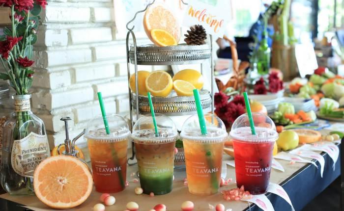 มารู้จักเมนูชาพร้อมราคาจาก Starbucks Teavana™ ก่อนไปเปิดประสบการณ์ใหม่ที่สตาร์บัคส์ 275 สาขาทั่วประเทศ