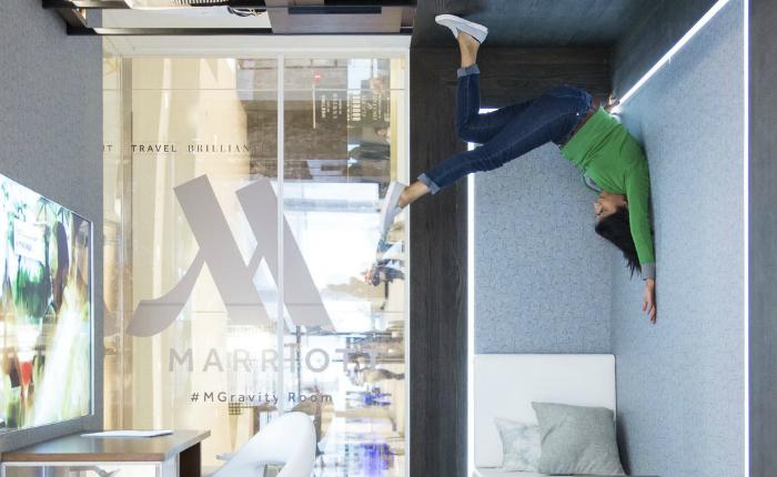 Marriott สร้าง Experiential Marketing อย่างว้าว ผ่านแคมเปญ #MGravityRoom