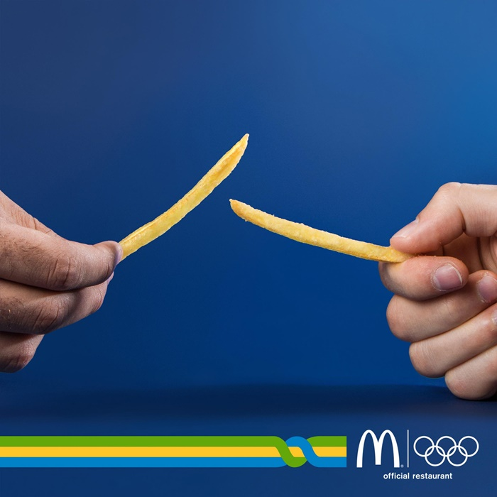 mcdonalds-medal-karate-ring-rowing-bicycle-basketball-fencing-javelin-diving-torch-print-388331-adeevee