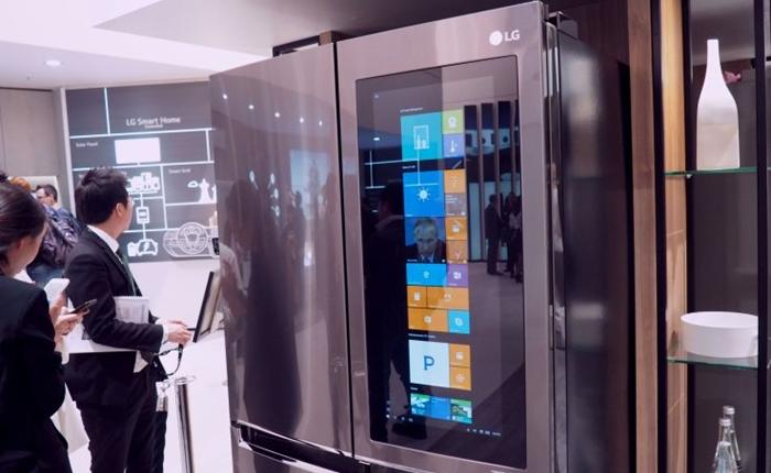 Windows 10 บนตู้เย็น LG ทำได้แล้ว พัฒนาเครื่องใช้ไฟฟ้าสุดสมาร์ท!