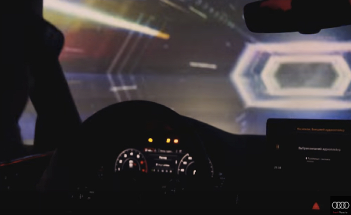 Audi จัดอีเว้นท์สุดล้ำ พาคนนั่งหลังพวงมาลัยตะลุยไปในอวกาศ