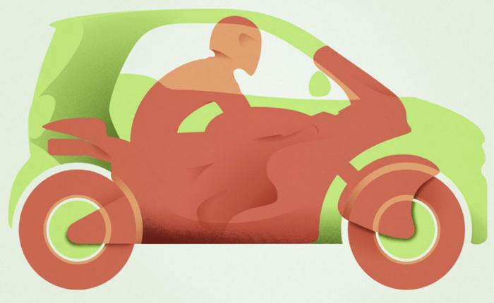 รถจิ๋ว Smart ออกโฆษณาใหม่ดูปราดเดียวก็รู้ว่ารถเขาเล็กจริง! เล็กพอๆ กับมอ'ไซค์เลย!