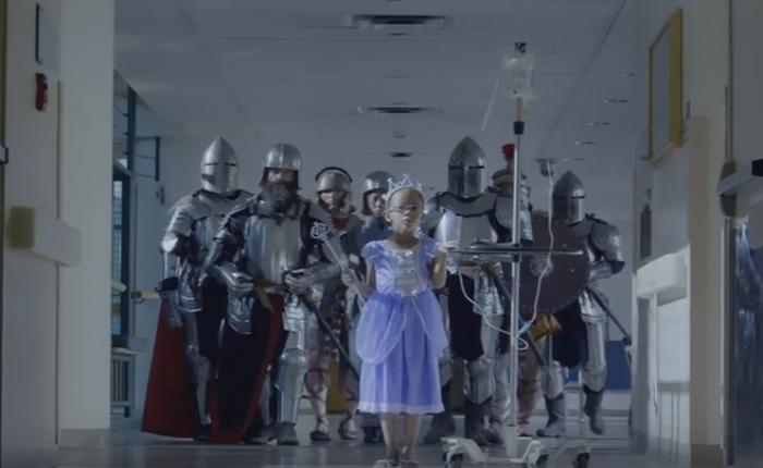 NGO โฆษณาแอคชั่นสุดมันส์ กระตุ้นเด็กป่วยให้ลุกขึ้นสู้ กระตุ้นคนดูให้รีบช่วยบริจาค