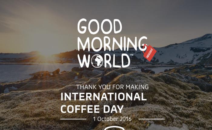 เนสกาแฟฉลองใหญ่วันกาแฟสากล ชวนลูกค้าส่งต่อแก้วกาแฟให้กันและกัน ย้ำภาพกาแฟแก้วแดงถูกใจคนทั้งโลก