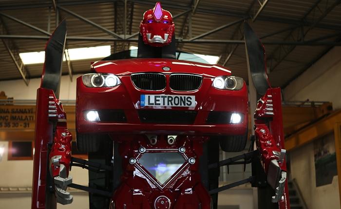 "Transformer ตัวจริง !! ""Letron"" รถ BMW ที่แปลงร่างเป็นหุ่นยนต์ยักษ์ได้"