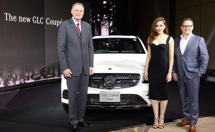 """มอร์เซเดส-เบนซ์ เสริมทัพยนตรกรรมกลุ่มเอสยูวี เปิดตัวรถยนต์รุ่นล่าสุด """"GLC 250 d 4MATIC Coupé"""""""