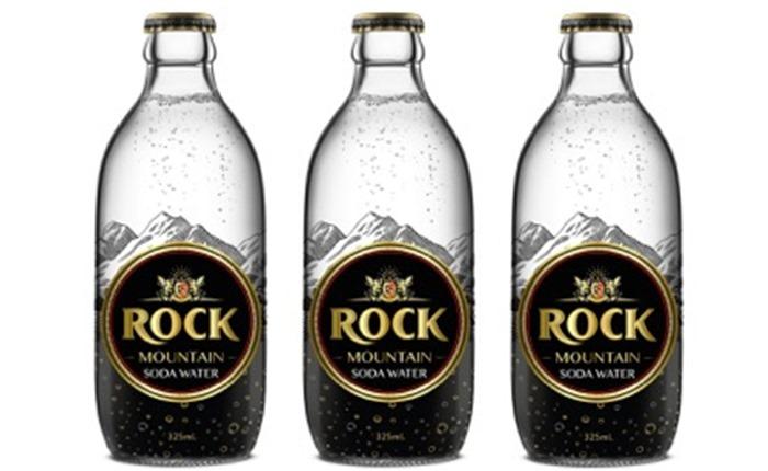 """""""โซดา ร็อคเมาเท็น"""" (Rock Mountain Soda Water) แก้วไหนก็เข้ากัน"""
