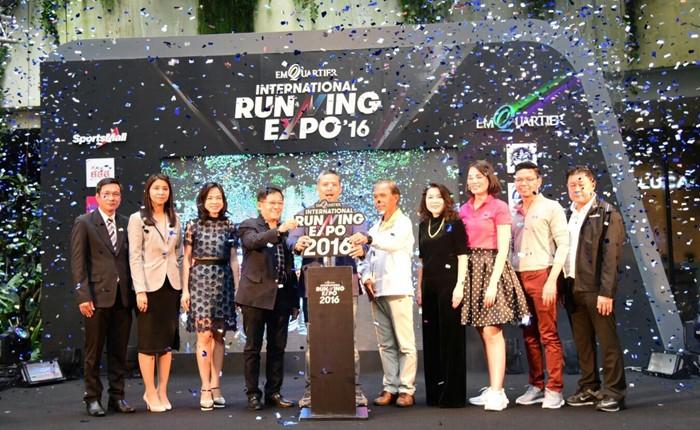 """THE EMQUARTIER INTERNATIONAL RUNNING EXPO 2016"" เอ็กซ์โปงานวิ่งที่ใหญ่ที่สุดคนรักการวิ่งห้ามพลาด"