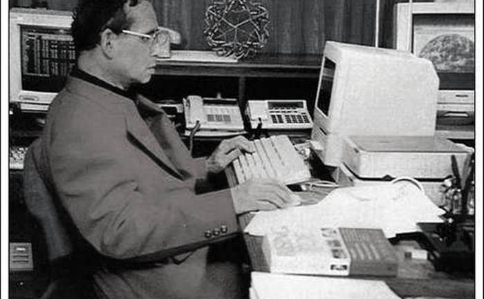 พระอัจฉริยภาพด้านไอที กับคอมพิวเตอร์เครื่องแรกของ ในหลวง ร.๙