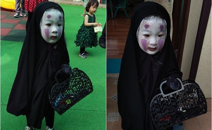 ตัวจริงก็น่ารัก หนูน้อยแต่งชุดผี Spirited Away ไวรัลดังรับฮาโลวีน ขวัญใจคนใหม่ชาวเน็ตไทย