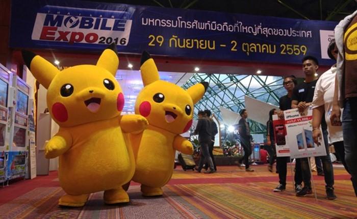 Thailand Mobile Expo 2016 Showcase คึกคักท้าลมฝน กระตุ้นตลาดปลายปี ด้วยยอดรวมทะลุเป้า
