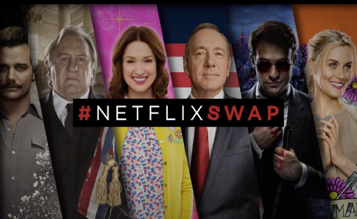 Netflix ใช้ฟิลเตอร์สลับใบหน้าใน SnapChat มาทำโฆษณากับสื่อ Outdoor ได้สุดอินเตอร์แอคทีฟ