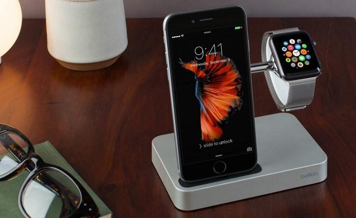 เบลคินแนะนำแท่นชาร์จสุดเทรนดี้ สำหรับผู้ใช้ Apple iPhone 7 และ Apple Watch