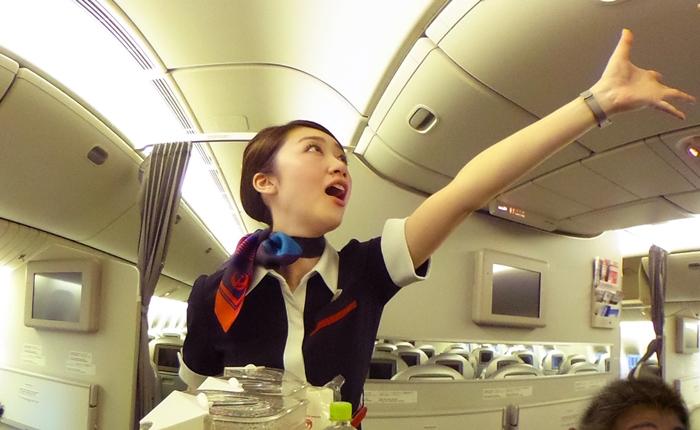 เที่ยวบินสุดสะพรึง!! ที่มาพร้อมกับผู้โดยสารที่จะทำให้คุณต้องอึ้งแบบ 360 องศา!!