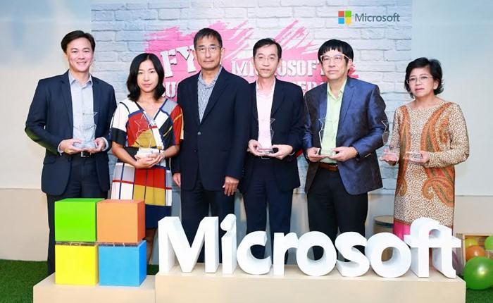 ไมโครซอฟท์ชูความสำเร็จพันธมิตรทางธุรกิจ มอบ Microsoft Partner Awards 2016 รางวัลการันตีศักยภาพ