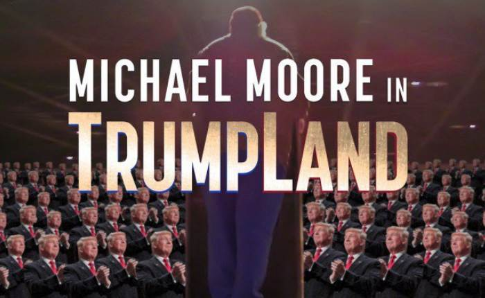 """มาพร้อมซับไทย หนังสารคดี 'ทรัมป์' แบบถึงลูกถึงคน """"Michael Moore In Trumpland"""" หาดูกันได้บน iflix เท่านั้น"""