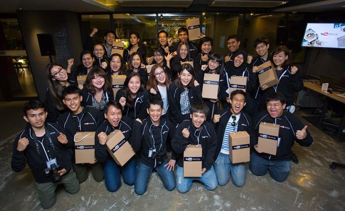 YouTube ประกาศผู้ชนะโปรแกรม NextUp ครั้งแรกของไทย