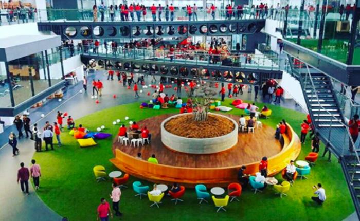 ชม RedQ สำนักงานใหญ่ AirAsia พื้นที่โล่งกว้างขวาง น่าทำงานเป็นอย่างยิ่ง