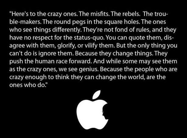 ในยุคแรกของ Apple ก็เจาะกลุ่ม Niche Market โดยเฉพาะ กลุ่มที่ไม่อยากใช้ IBM และ MS
